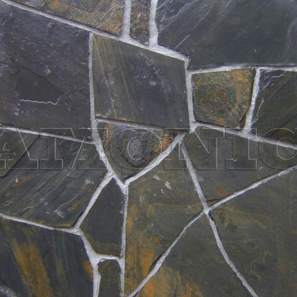 Сланец уральский чёрный
