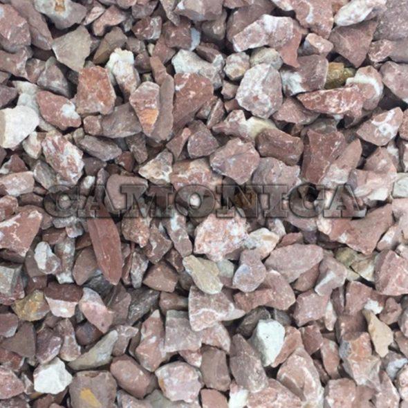 Каменная крошка из мрамора розового